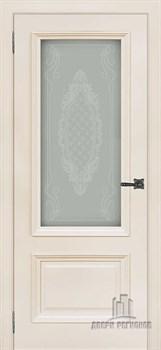 Дверь шпонированная Неаполь-1 остекленная - фото 36433