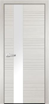 Дверь ПВХ Новелла (Лакобель белый) - фото 37587