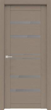 Дверь экошпон Велюкс 01 (Графит) - фото 37596