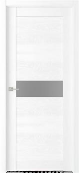 Дверь экошпон Велюкс 02 (Графит) - фото 37609