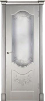 Дверь шпонированная Прованс-2 остекленная - фото 38202