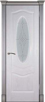 Дверь шпонированная Венера остекленая - фото 38311