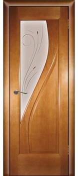 Дверь шпонированная Даяна остекленая - фото 38324