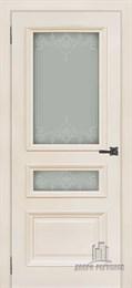 Дверь шпонированная Неаполь-2 остекленная
