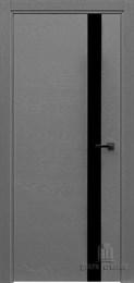 Дверь шпонированная UNO ART LINE остекленная