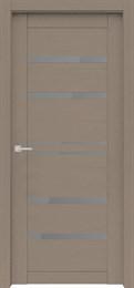 Дверь экошпон Велюкс 01 (Графит)