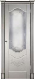 Дверь шпонированная Прованс-2 остекленная