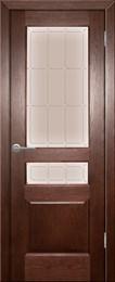Дверь шпонированная Прованс-9 остеклеоная
