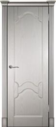 Дверь шпонированная Виктория Глухая