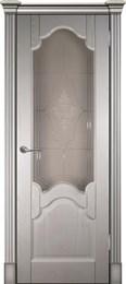 Дверь шпонированная Виктория остеленая