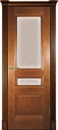 Дверь шпонированная Оливия ШП Остекленая