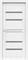 Дверь экошпон Велюкс 01 (Графит) - фото 37602