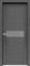 Дверь экошпон Велюкс 02 (Графит) - фото 37608
