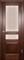 Дверь шпонированная Прованс-9 остеклеоная - фото 38283