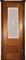 Дверь шпонированная Прага остекленая - фото 38341