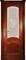 Дверь шпонированная Леон М остекленая - фото 38352