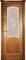 Дверь шпонированная Леон М остекленая - фото 38353