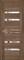 Дверь экошпон UNILINE 30030 остеклённая - фото 39677